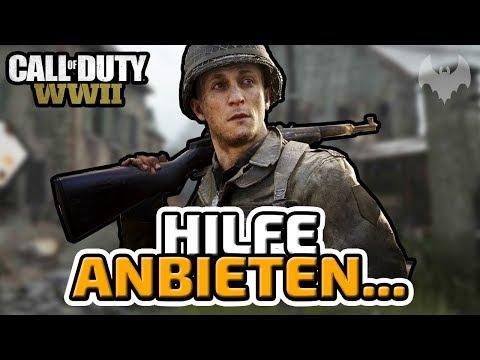 Sie bieten uns Hilfe an... - ♠ Call of Duty: WWII Trouble Town Battle ♠ - Deutsch German - Dhalucard