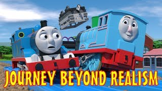 TOMICA Thomas & Friends Short 47: Journey Beyond Realism (Journey Beyond Sodor Trailer Parody)