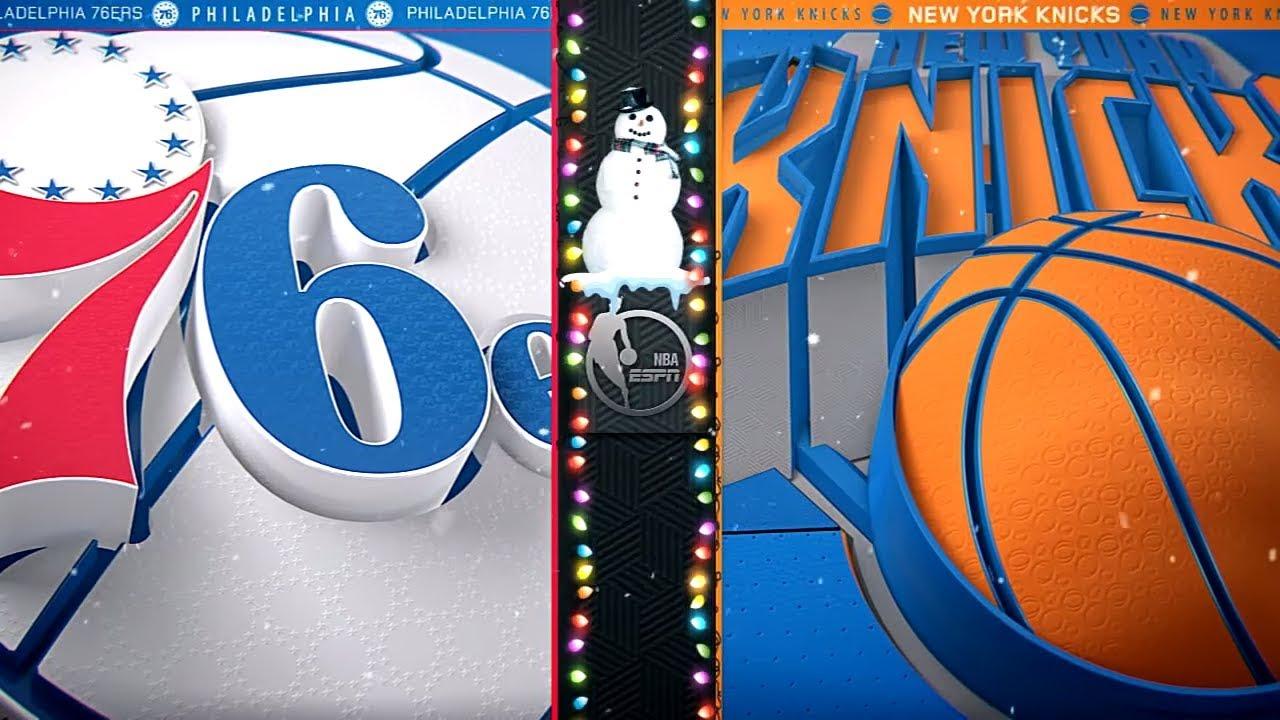 Ben Simmons, Joel Embiid, Kristaps Porzingis: 76ers-Knicks at MSG on Christmas Day   ESPN