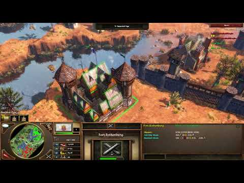 Age of Empires III Artillery Only! With Marr_23
