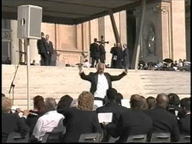2001 Golden West College Symphonic Band Vatican Concert