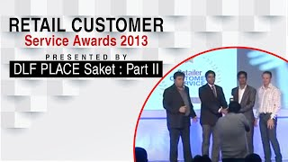 Retail Customer Service Awards 2013