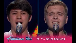 Download Lagu Caleb Hutchinson & Laine Hardy: Two Country Boys FIGHT To Be In The Top | American Idol 2018 Gratis STAFABAND