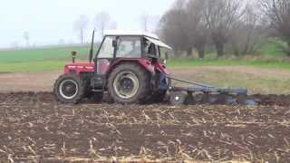 Zetor 7745 Turbo+Unia 5 skib! Orka 2013![HD]