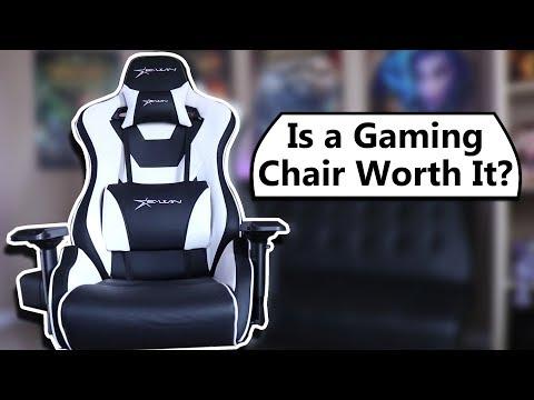 Gaming Chair Vs Ergonomic Task Chair - Worth It? EWin Racing Chair Review