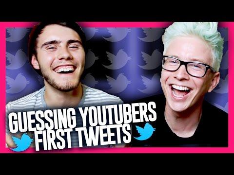 Guessing YouTubers' First Tweets (ft. Alfie Deyes) | Tyler Oakley