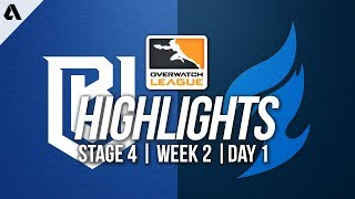 Boston Uprising vs Dallas Fuel | Overwatch League Highlights OWL Stage 4 Week 2 Day 1