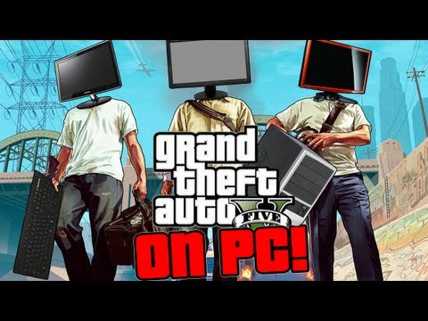 Grand Theft Auto V: Трейлер PC версии