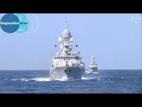 Russia launches missiles towards Syria from the Caspian Sea