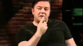 Ricky Gervais on Atheism ......this is funny
