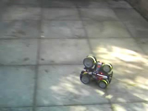 R/C stunt car TNT Equalizer