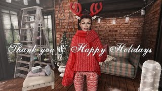 Thank you & Happy Holidays Second Life Residents!