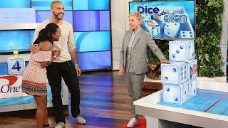 A Cute Couple Plays 'Dice with Ellen'