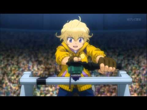 Metal Fight Beyblade Zero-G Episode 32 - Hot-Blooded! Zero VS Takanosuke