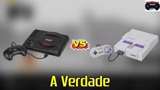 (Resposta ao SnesTalgia) - Super Nintendo é melhor que o Mega Drive? (A VERDADE)