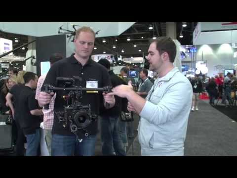 NAB 2013: Freefly MoVI M10 Camera Stabilizer with Advanced Gyro & Gimbal