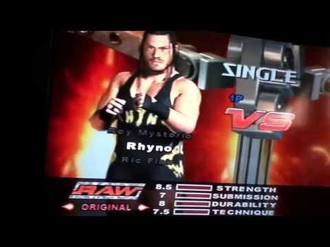 Wwe svr 2004 full roster