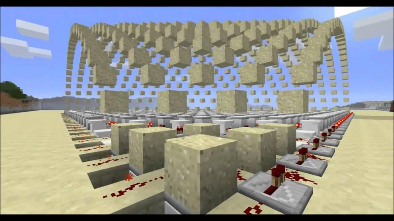 #Minecraft Piston Sandwave! - YouTube