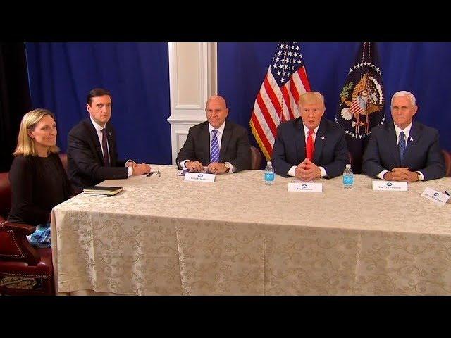 Trump warns North Korea, thanks Russia, backs Meuller (entire press conference)