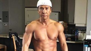 Donnie Yen o astro do kung fu tem uma dura rotina de treinamentos