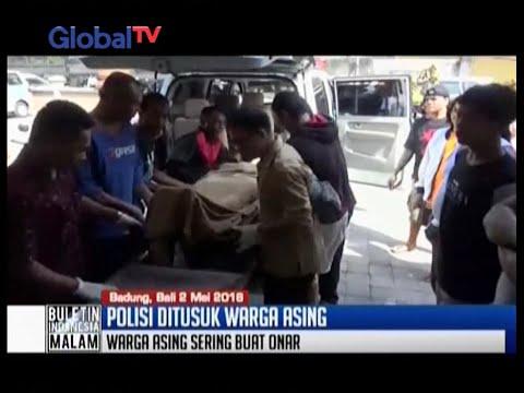 Anak Agung Putu Sudiarta, polisi di Bali, tewas ditusuk bule Prancis Amokrane Sabet - BIM 02/05