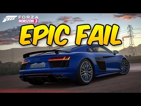 Forza Horizon 3 - Epic Fail!