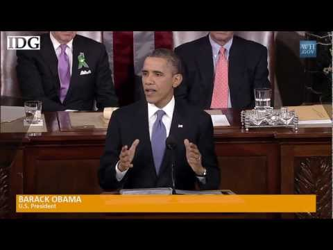 U.S. President Obama addresses hacking, cybersecurity during State of the Union Address