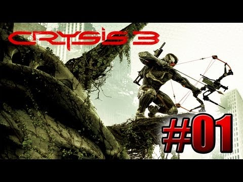 Crysis 3   Mision 1   Post-Humano   Español   Let's Play / Walkthrough