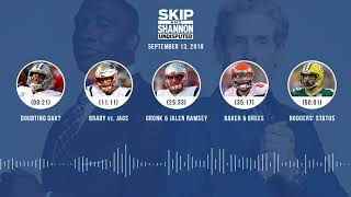 UNDISPUTED Audio Podcast (9.13.18) with Skip Bayless, Shannon Sharpe & Jenny Taft | UNDISPUTED