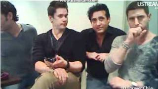 Video Chat Il Divo (PART II) 28/10/2011