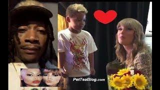 download musica Wiz Khalifa takes Son to finally Meet Taylor Swift his idol 🎤👀
