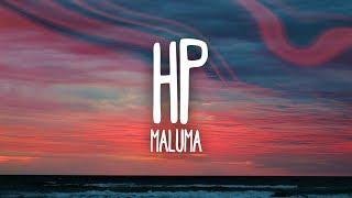 Maluma - HP (Letra)