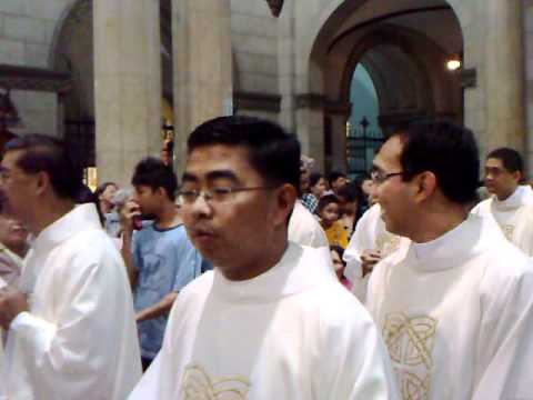 Entrance procession - Ordination to the Sacred Order of Presbyters, 1 October 2011