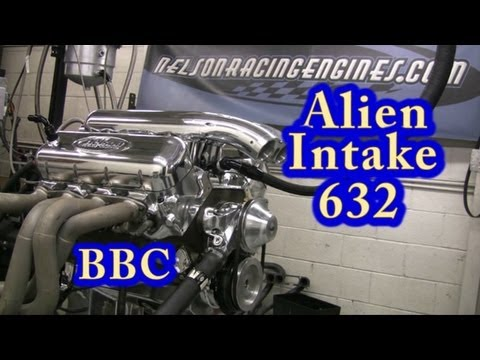 Viscious 800 HP Alien Intake 632 CI BBC from NRE.  Veritas Movie Studio.