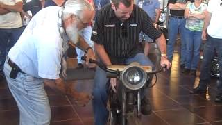 1912 Harley Belt Drive First Start In Decades