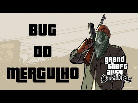 GTA San Andreas - Bug do mergulho - Miss?o Assalto Anf?bio (Amphibious Assault bug) [S03E09]