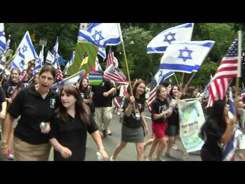 North Shore Hebrew Academy marches in Celebrate Israel Parade(134502) - 05/14/2012