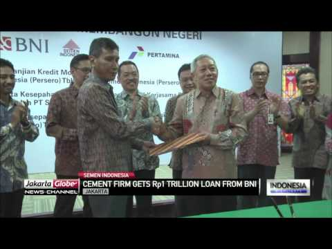 Semen Indonesia Securing Rp 1T Loan From BNI
