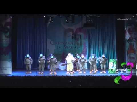 MÁLAGA COAC 2014 PRELIMINARES - UNA CHIRIGOTA CON PLUMAS