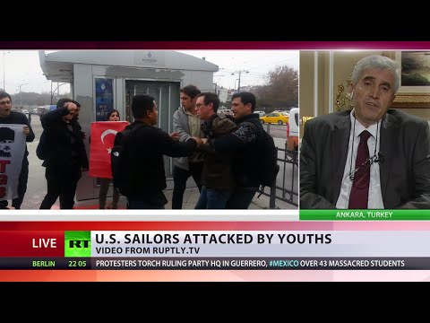US sailors ambushed: Attacking American soldiers 'a tradition' in Turkey, more to come