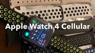 Apple Watch 4 44mm Cellular review extra bands cheap