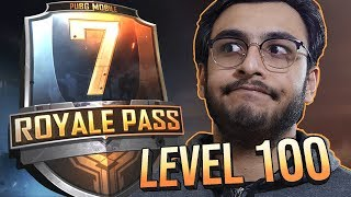 PUBG MOBILE LIVE | NEW SEASON 7 ROYAL PASS RP 100  | NEW UPDATE | RAWKNEE