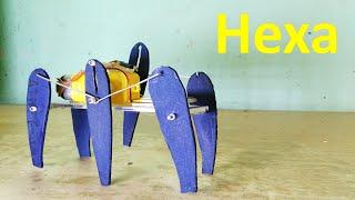 How to make six legged robot - Hexa - DIY Robot