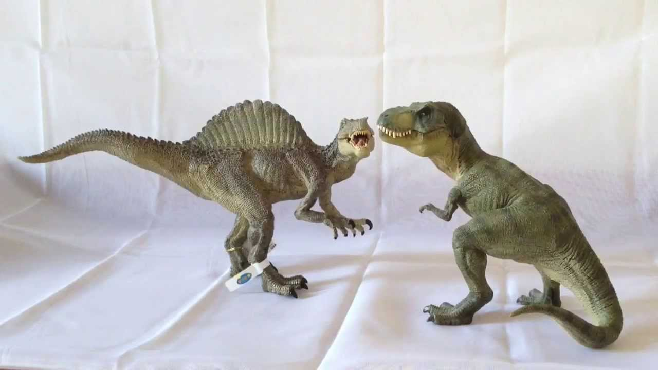 Jurassic park papo spinosaurus review youtube - Spinosaurus jurassic park ...