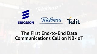 NB-IoT: The First End-to-End Data Communications Call on Narrow Band IoT