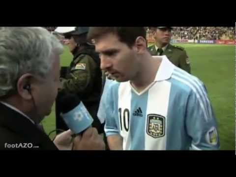 Di Maria & Messi struggle to breathe in Bolivia vs Argentina