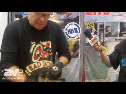 InfoComm 2016: Bad Dog Tools Demos Rover Bit Drill