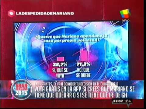 """""""Gran Hermano 2015"""": Mariano conoció la opinión de la gente"""