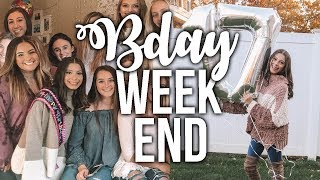 WEEKEND IN MY LIFE// BDAY EDITION!!