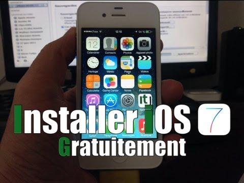 Installer gratuitement iOS 7 Bêta 6 et GM sur iPhone / iPod touch & iPad sans compte Dev !